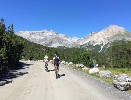 Alta Valtellina in mtb: giro ad anello di 80 km da Grosio