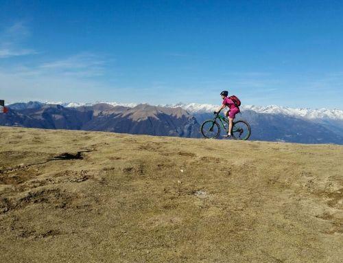 Alpe di Terrabiotta: splendida vista sul lago di Como