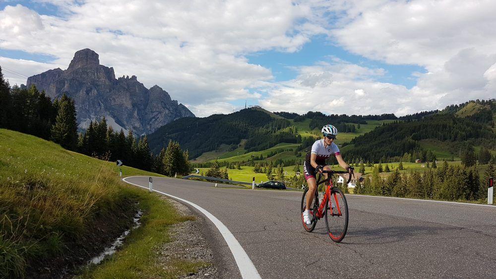 Dolomiti in bici da corsa