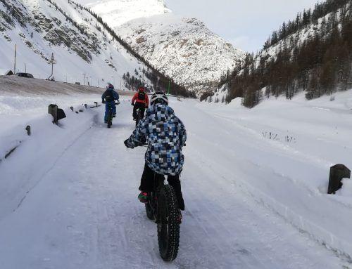Pedalare sulla neve: in fat bike a Livigno
