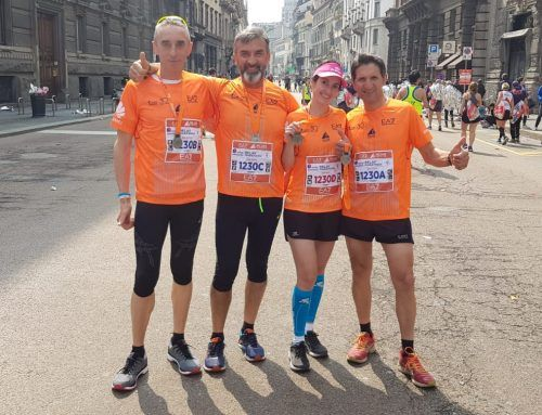 Milano Marathon: missione compiuta alla staffetta solidale