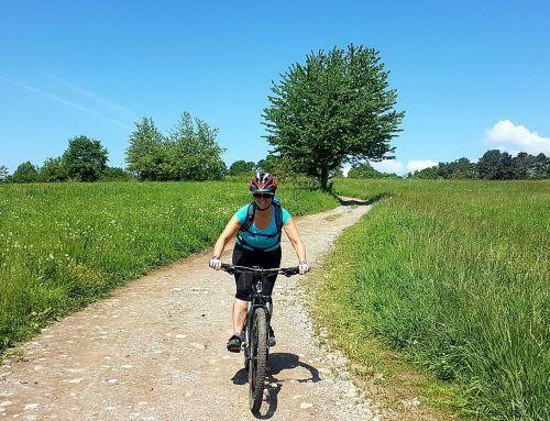 Donne in bici: Silvia che ha da poco scoperto la mountain bike