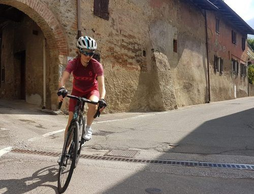 In bici da corsa con SCOTT Contessa Addict