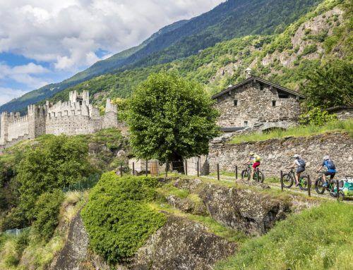 In Valtellina: un'idea vacanza di quattro giorni in bicicletta