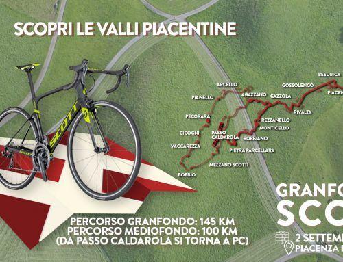 GF SCOTT Piacenza 2018: il 2 settembre si pedala tra le valli piacentine