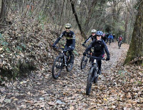 Mtb: splendida pedalata con Pietro Sarai