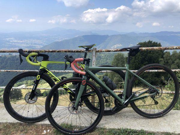 gravel bike vs bici da corsa