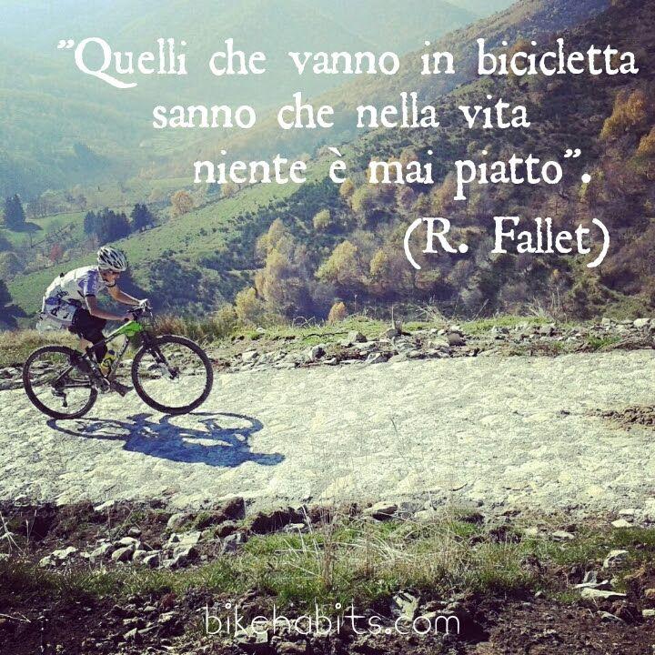 frasi sulla bicicletta