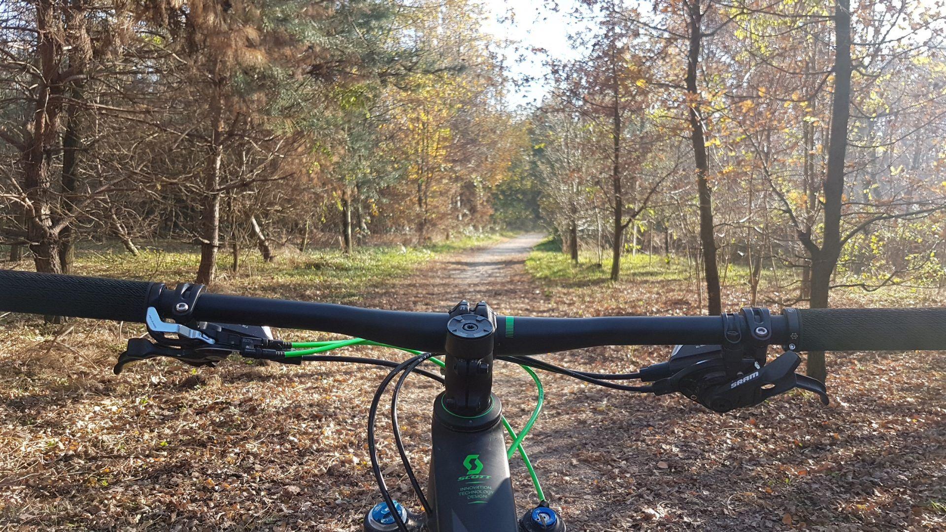 mountain bike da soli