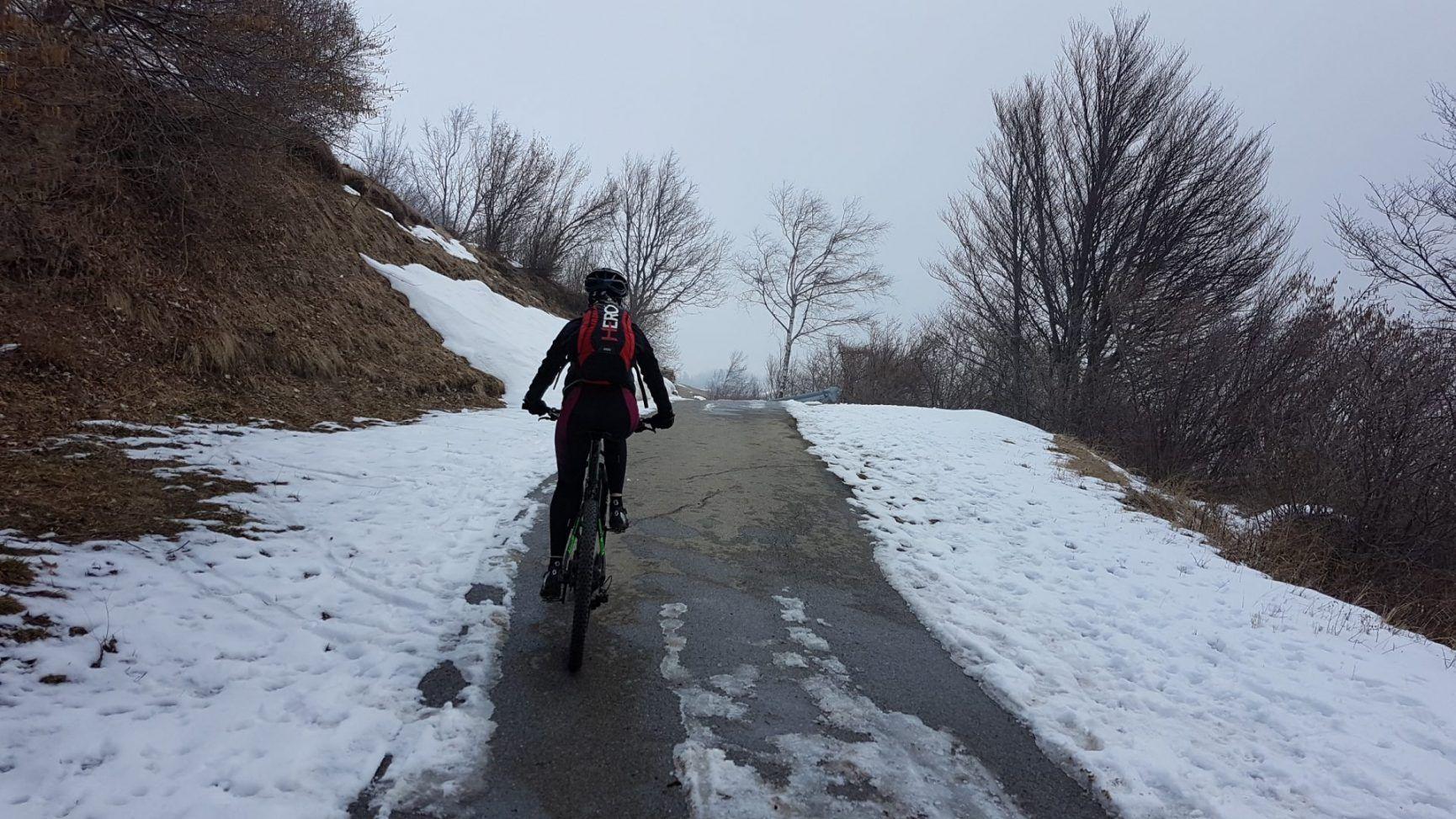 Monte Cornizzolo in inverno