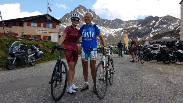Paola Brazioli con Tarcisio Persegona