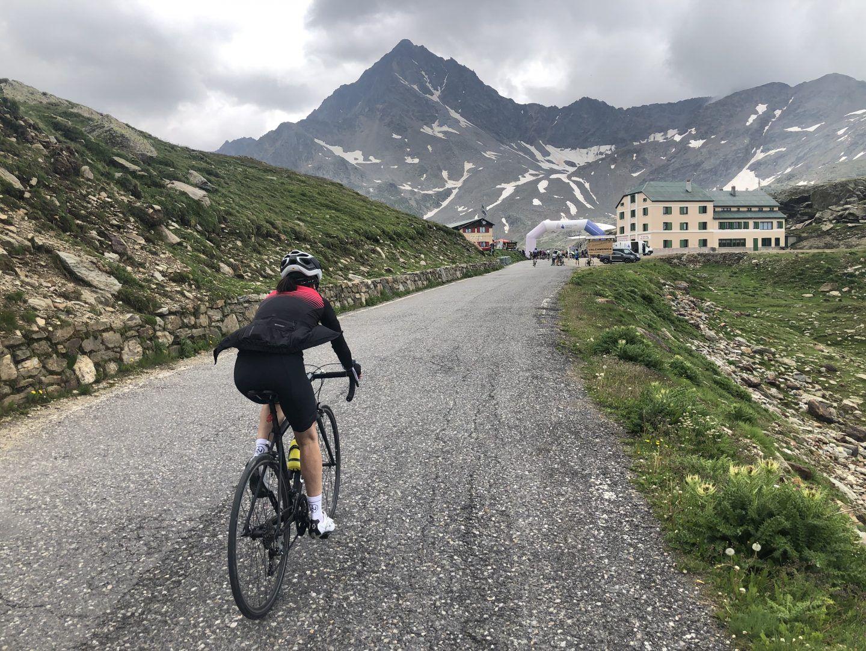 salite in bicicletta, passo gavia