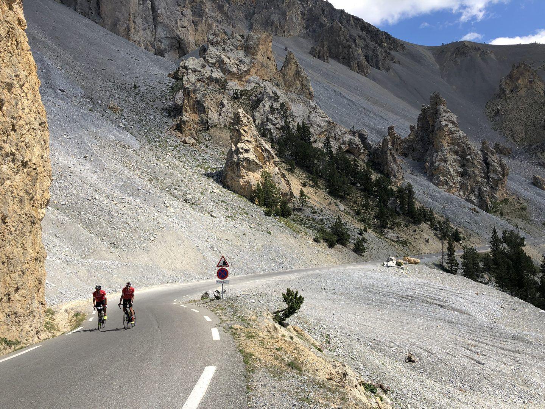 Casse Deserte - salite in bicicletta