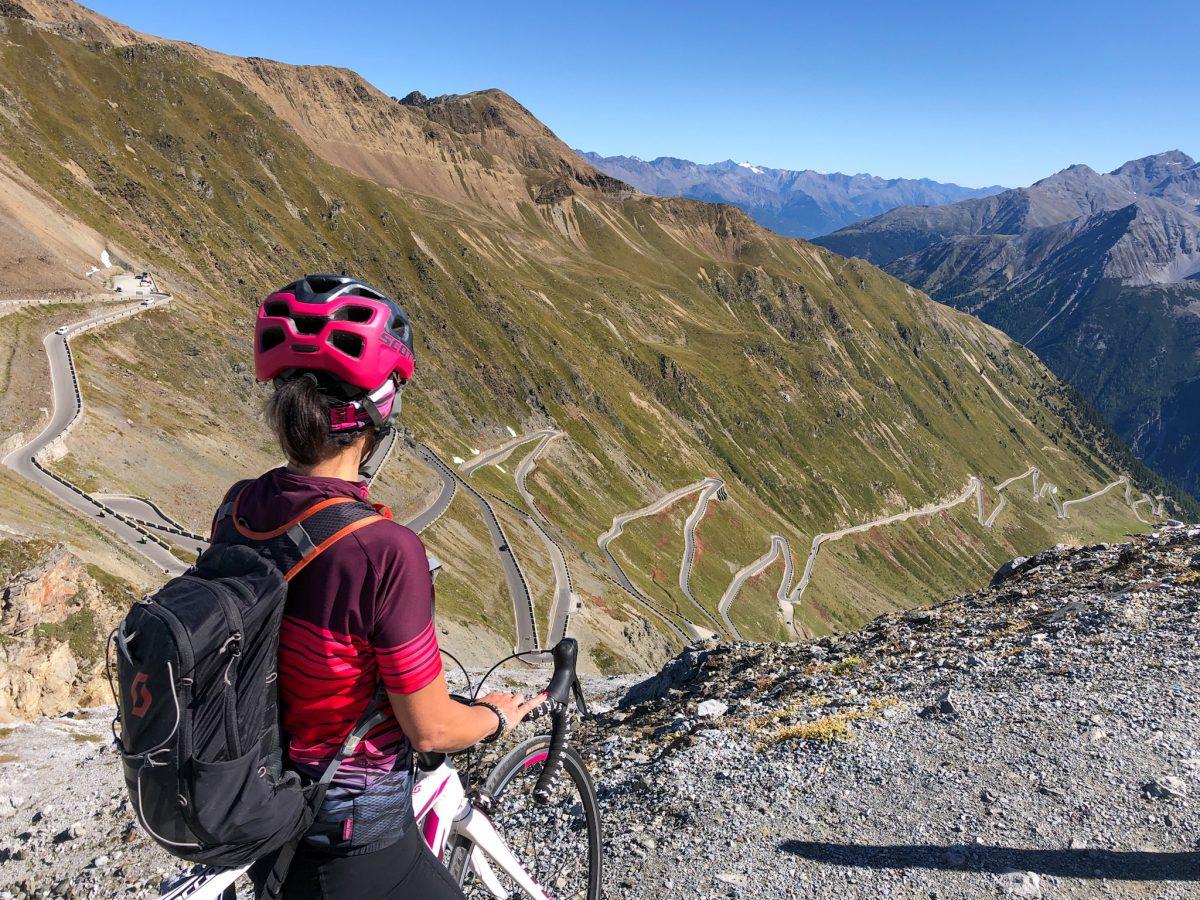 Passo dello Stelvio dalla Val Venosta