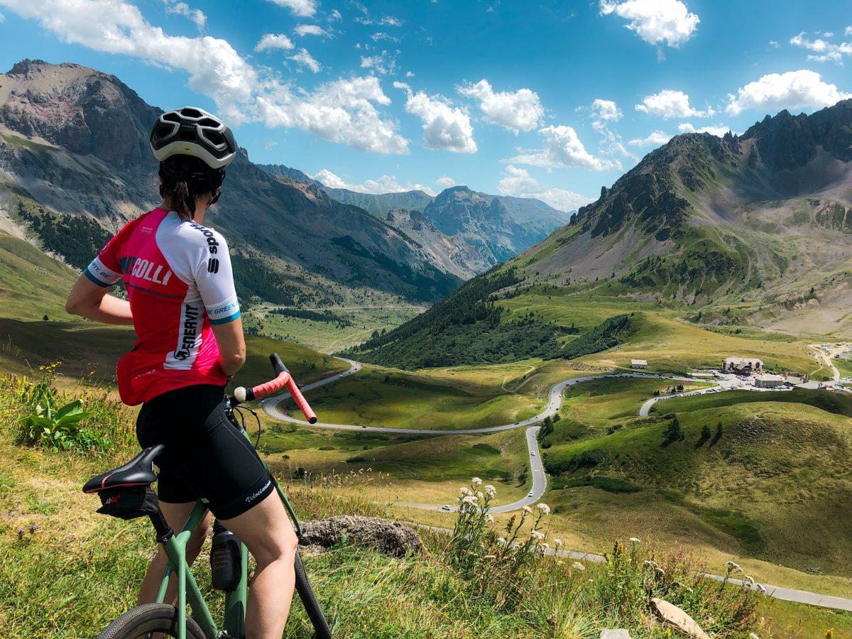 salite in bicicletta: col du Galibier