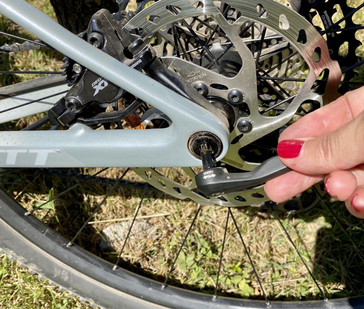 tecnologia axle tool su Scott contessa scale