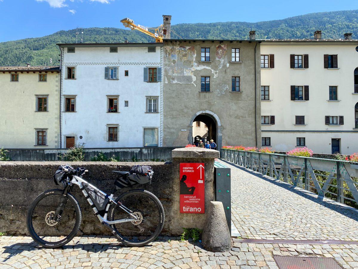 bikepacking in Valtellina