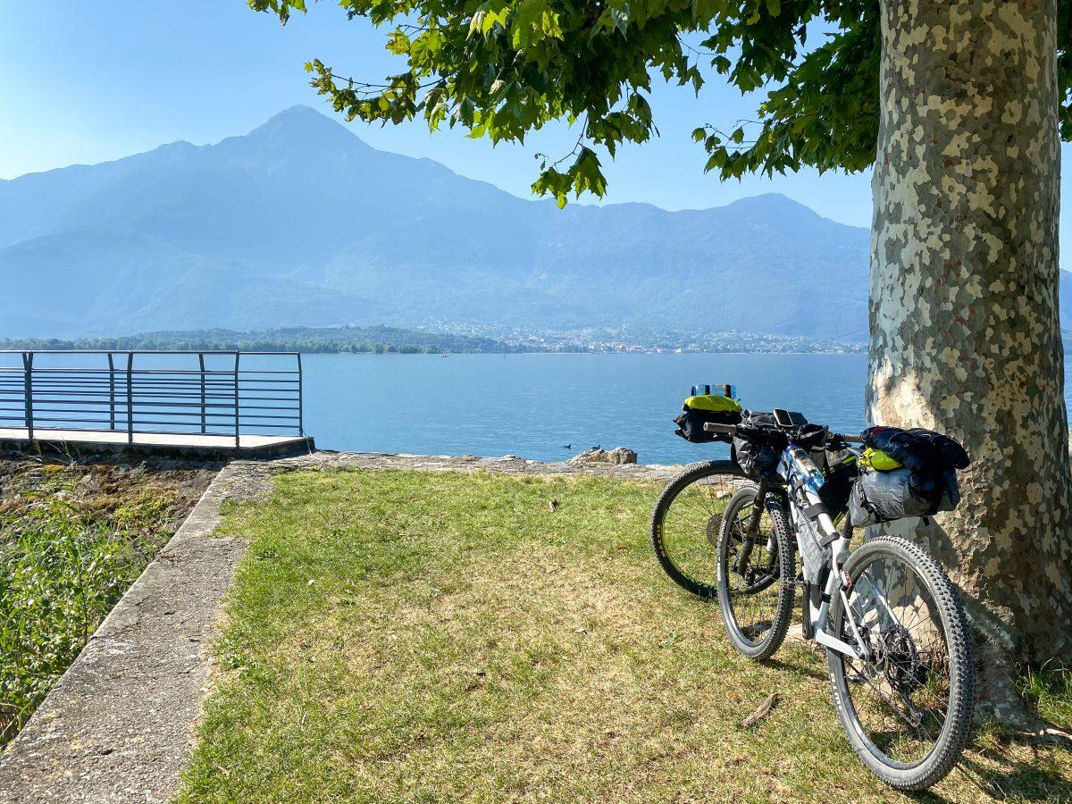 Gera Lario-bikepacking