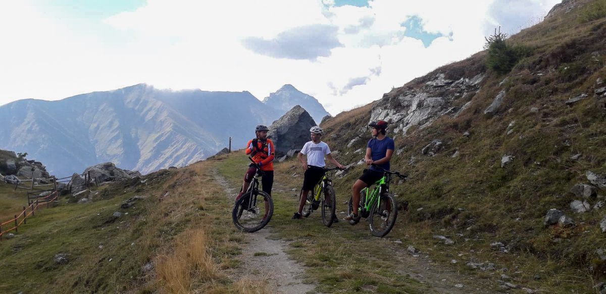 giro dei tre rifugi in Val Pellice