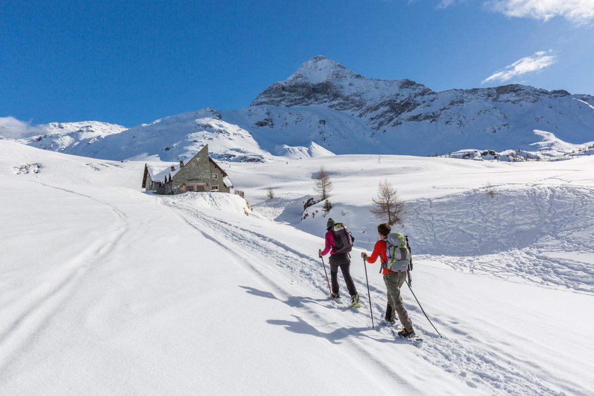 Alpe Campagneda con la neve