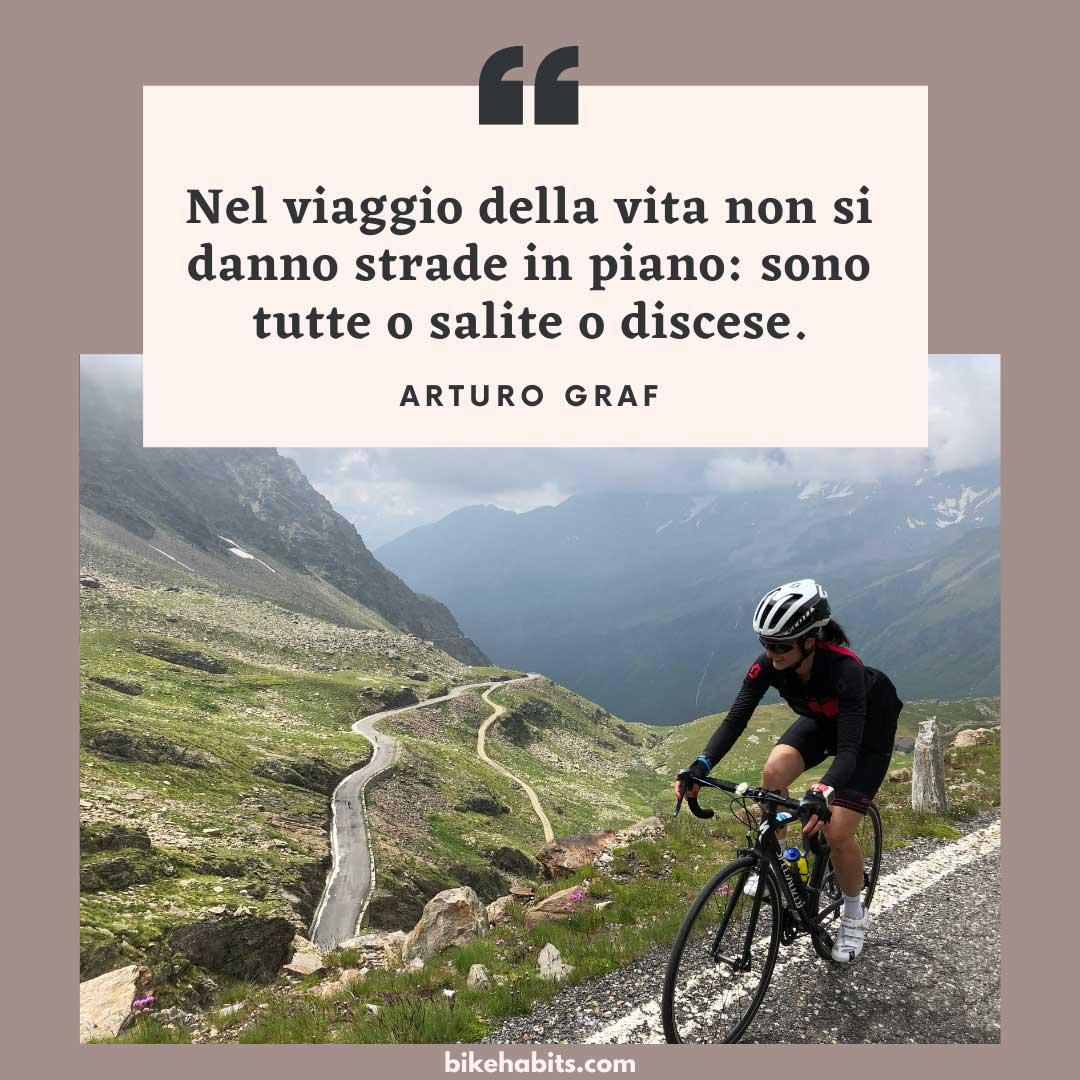 citazione bici Arturo Graf