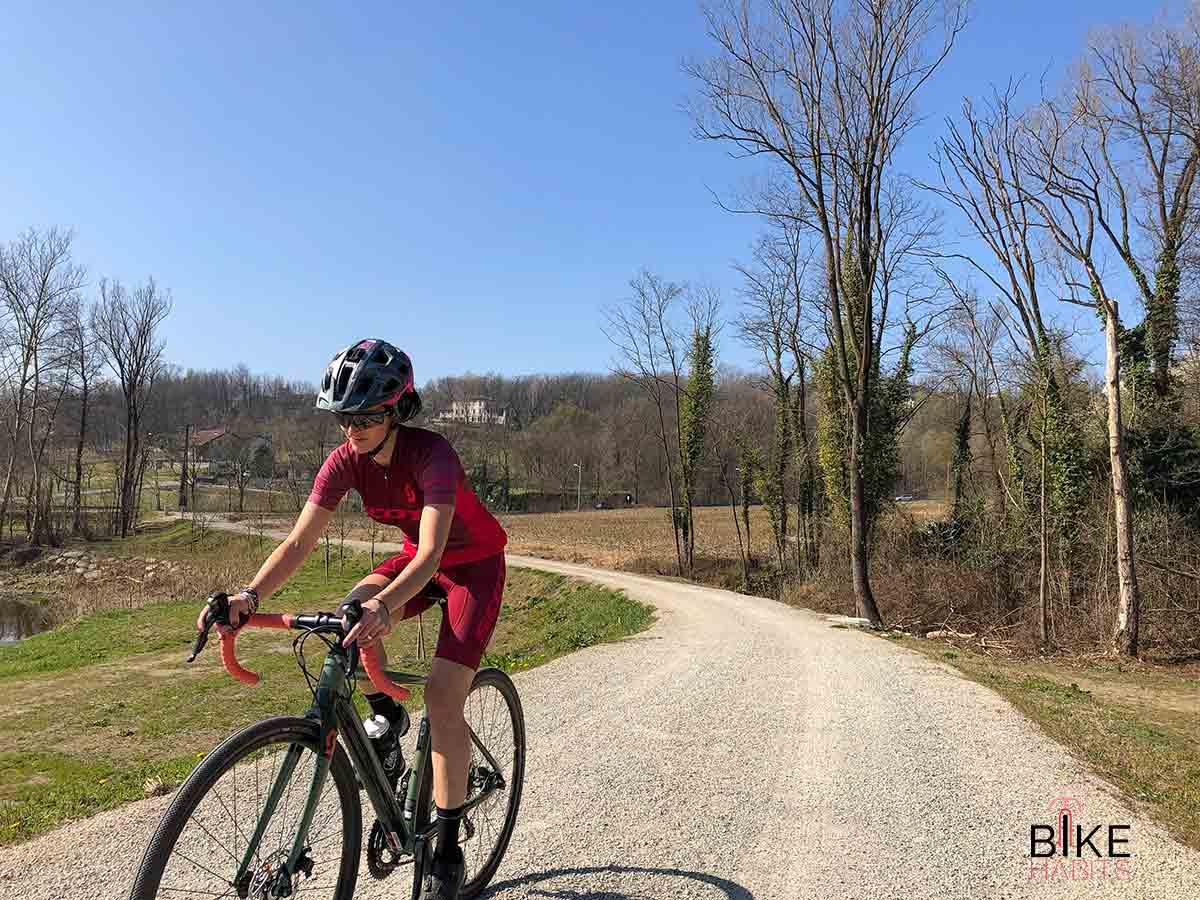 bici gravel in Brianza