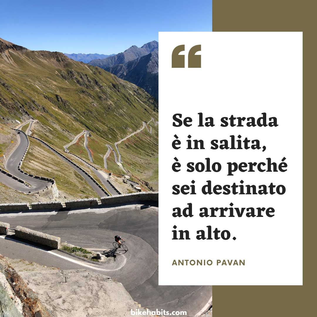 citazione bici Antonio Pavan