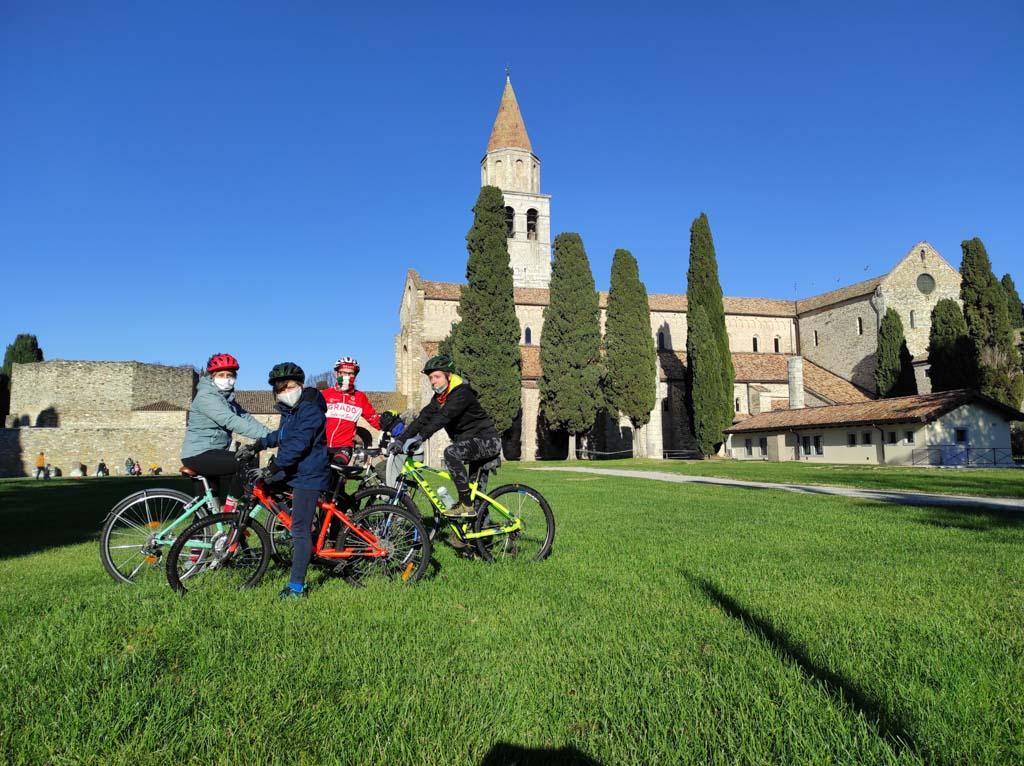 Aquileia- Alpe Adria in bici