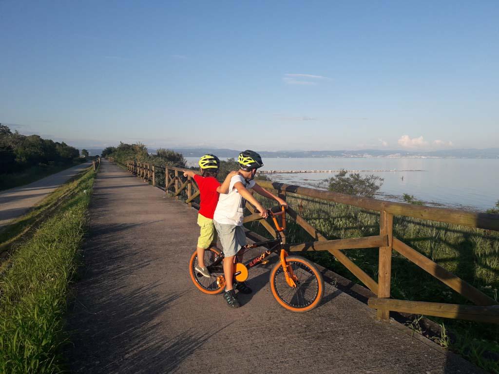 In bici attorno alla laguna di Grado
