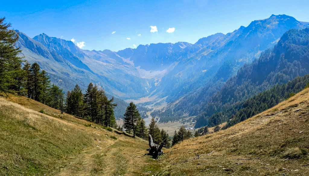 sentieri tra le cime della Val Pellice