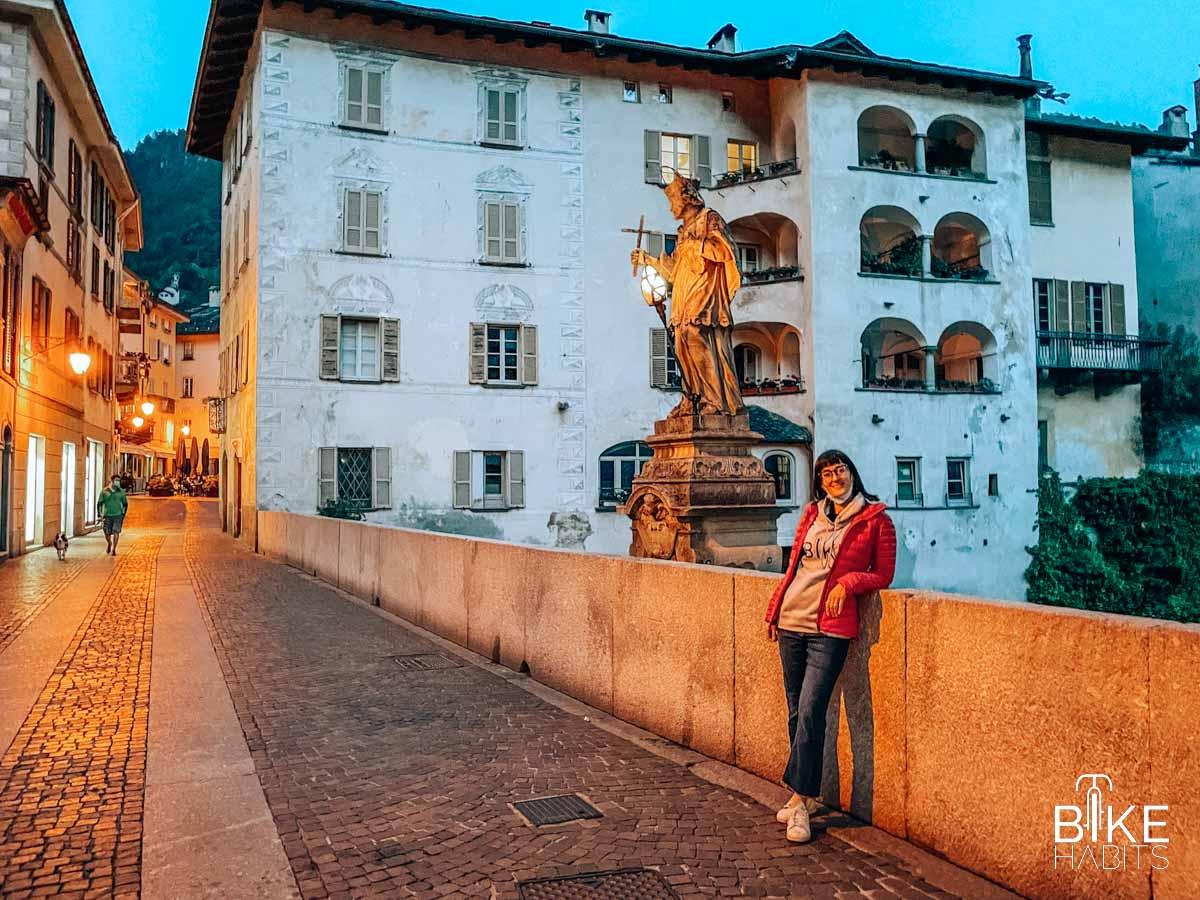 cosa fare a Chiavenna - Chiavenna by night