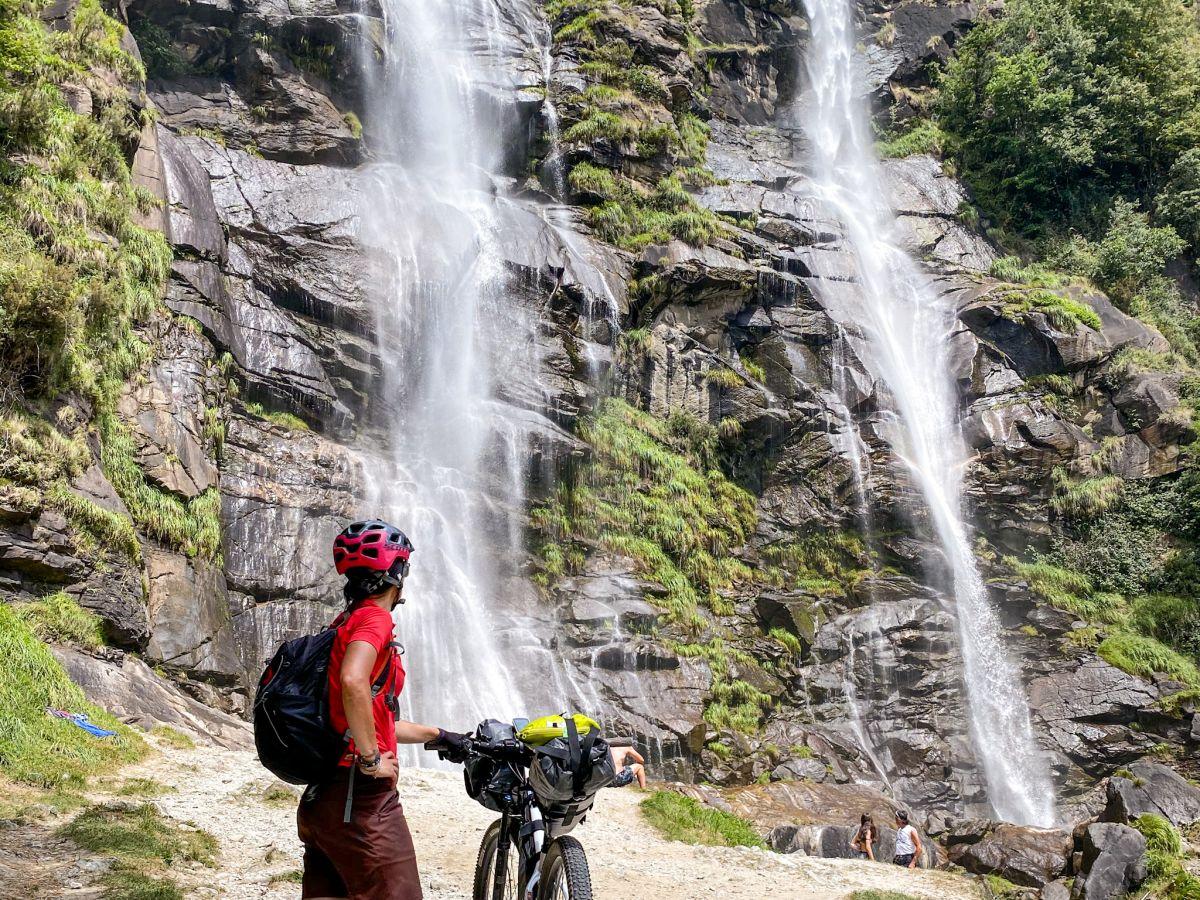 cosa fare a Chiavenna - cascate Acquafraggia