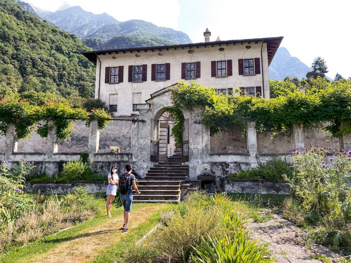 Palazzo Vertemate Franchi a Piuro