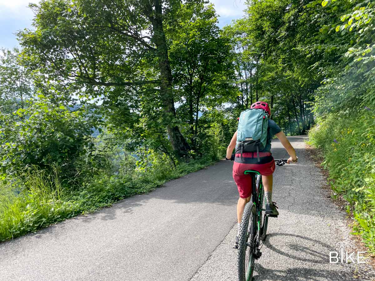 Passo Culmine San Pietro in bici