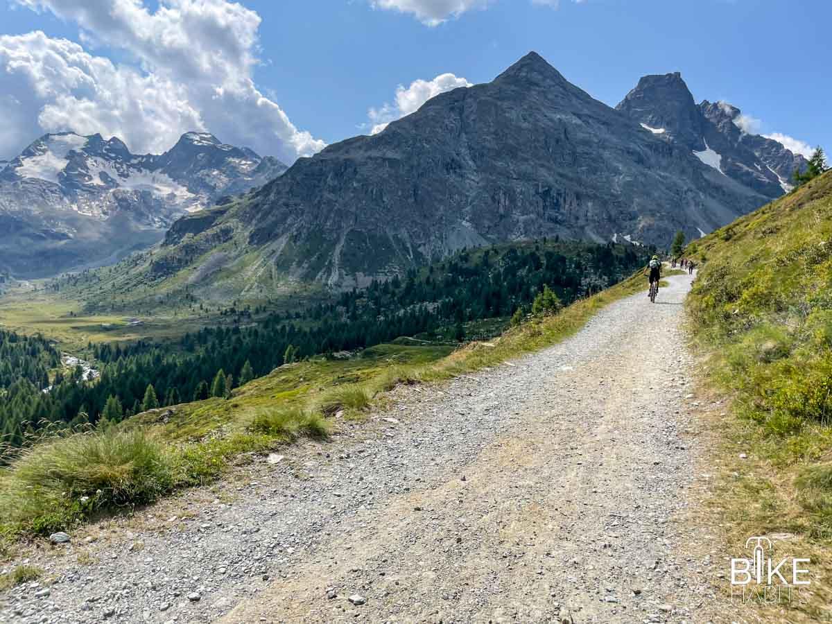 Giro in mtb da Tirano alla Val Viola
