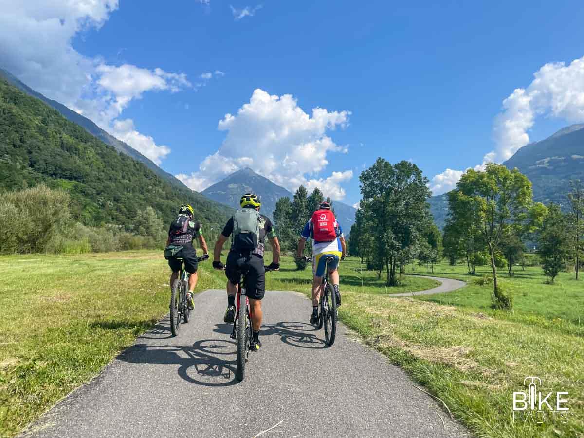 Sul sentiero Valtellina da Tirano a Grosio