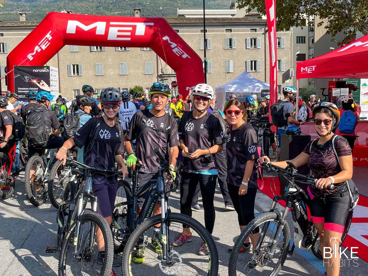 prima della partenza della Festival Ride - VEF 2021